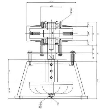 ターゴ水車発電機